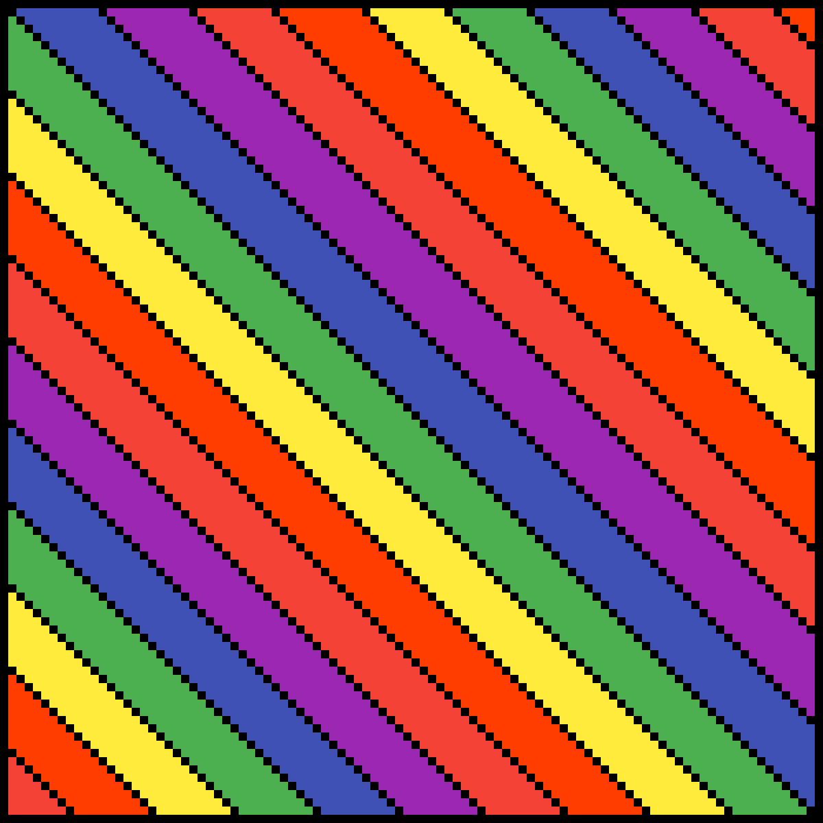 LGBT Flag by PaigeVlogzYT123