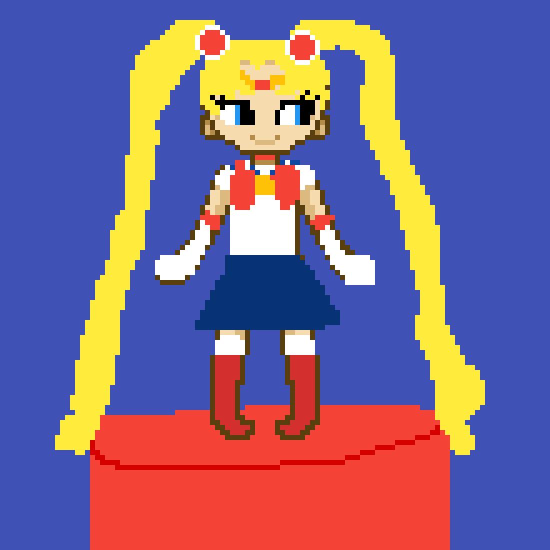 Chibi Sailor Moon!❤ by kawaiisavvy