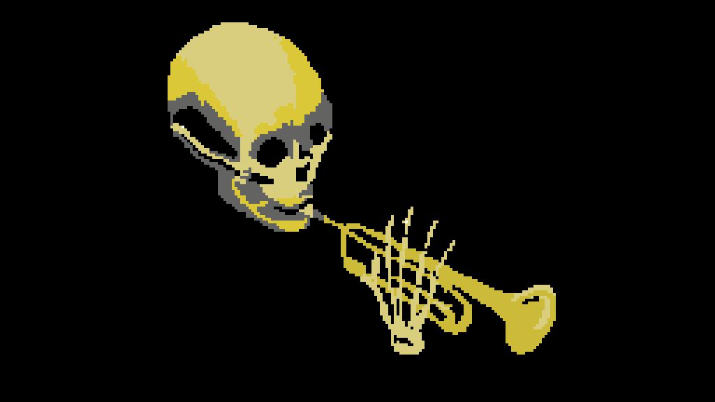 Pixilart spooky scary skeleton by zaheed098 - Scary skeleton games ...