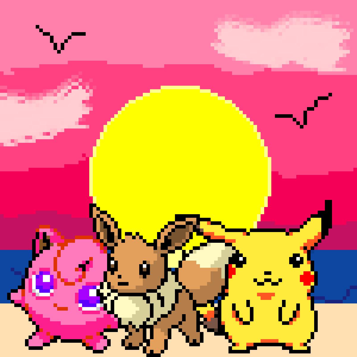Pokémon Day at the Ocean