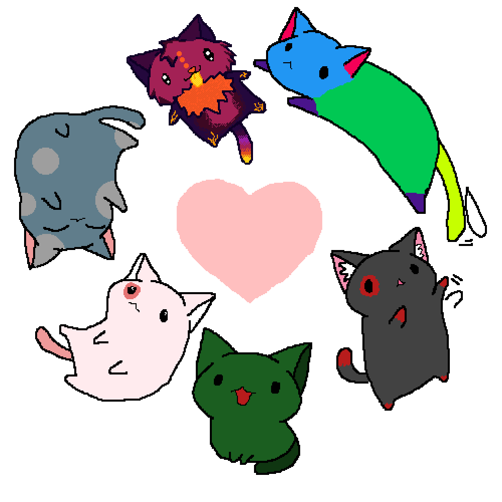 Catsss by nobodyinlife
