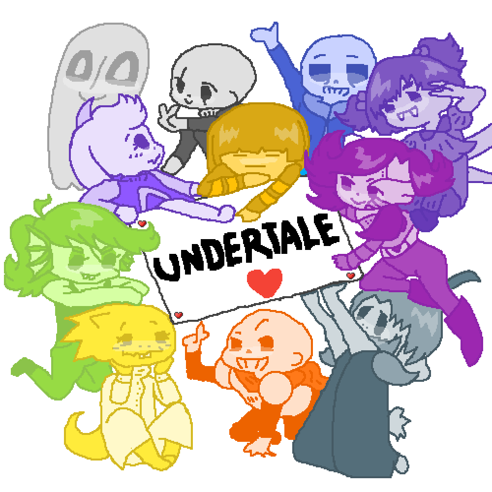 Undertale Bois by MidNight11
