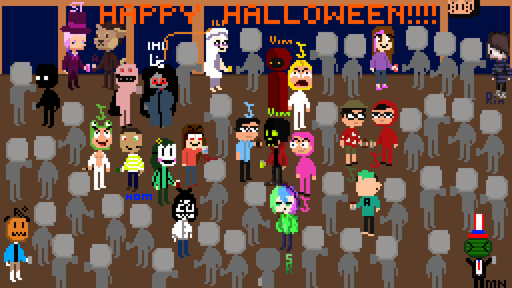 meeting collab: HAPPY HALLOWEEN!!! by AAULET