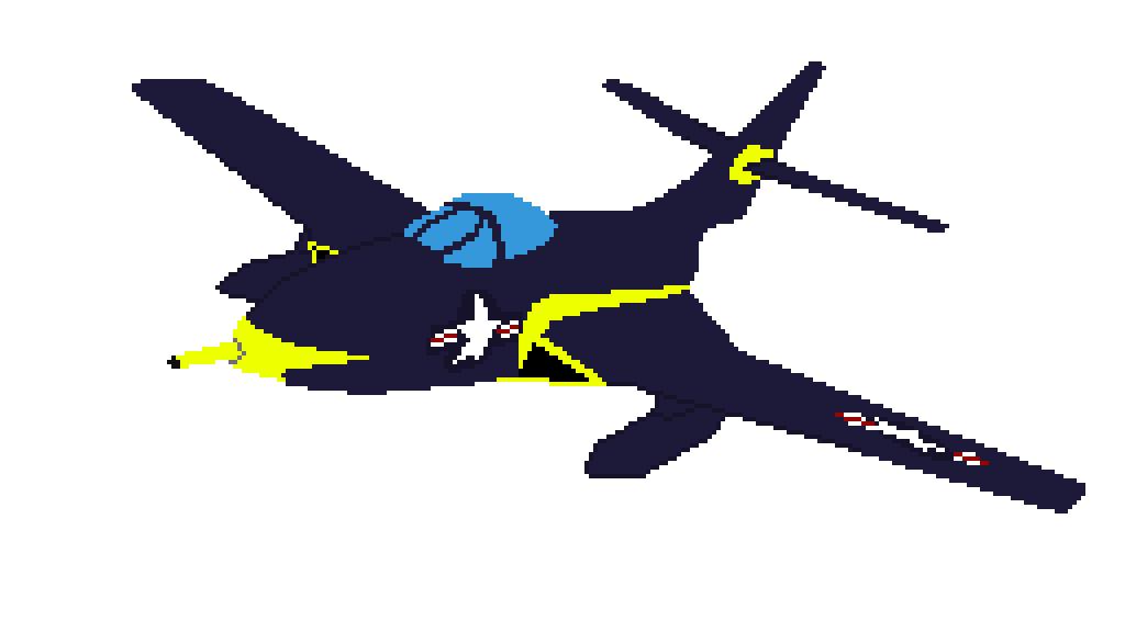 Grumman F9F-8 Cougar by NoInfo