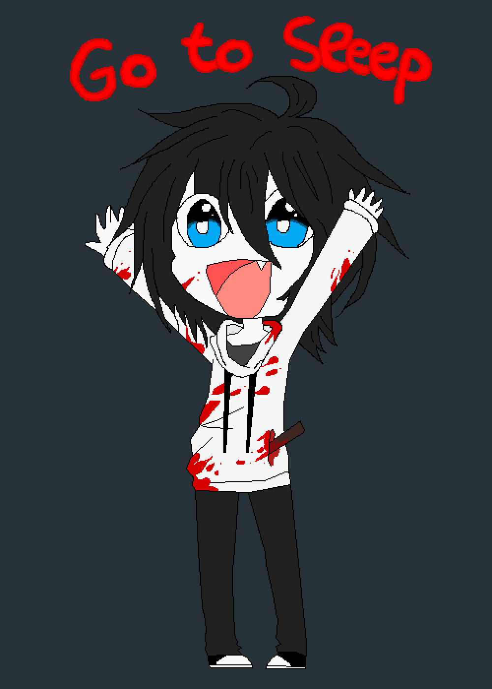 Jeff the killer by TemBOB