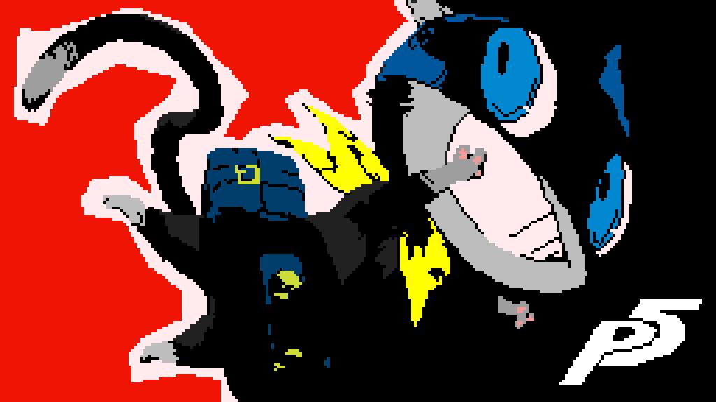 Morgana (Persona 5) by Vintageshore