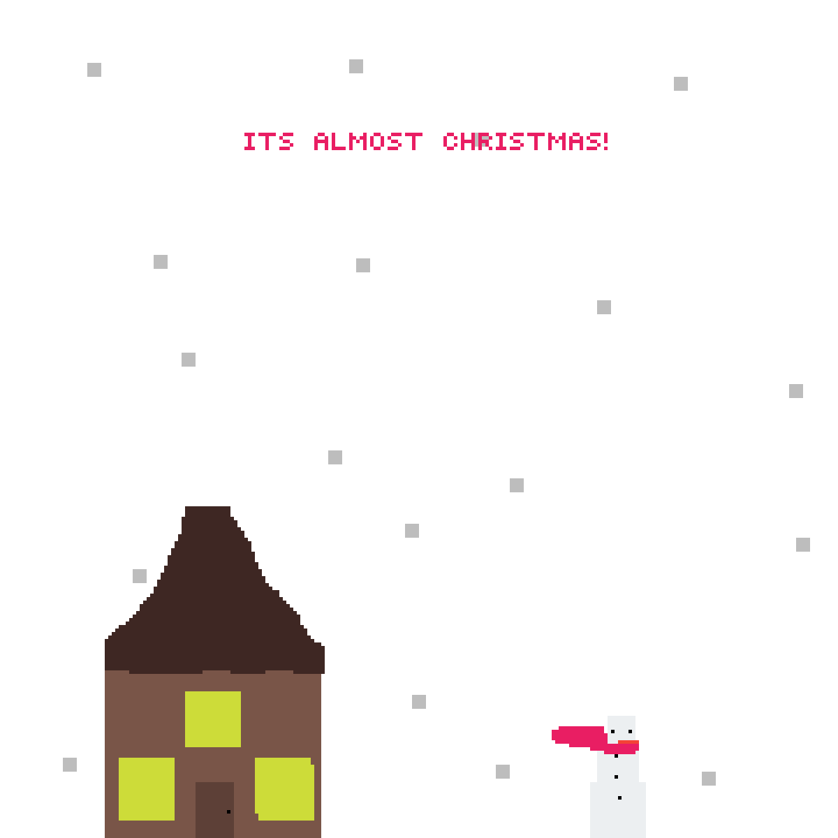 Its  Almost Christmas!