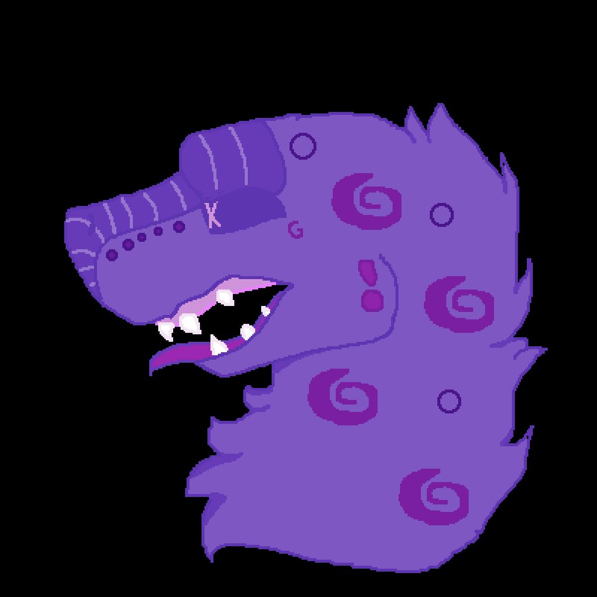 Grape crush lizard boyo! by Eggspirit