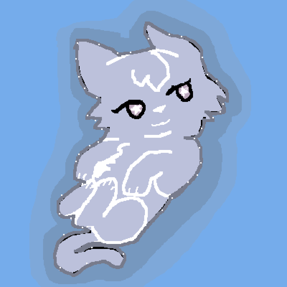 Billowingkit in Starclan by Lilcatlover55