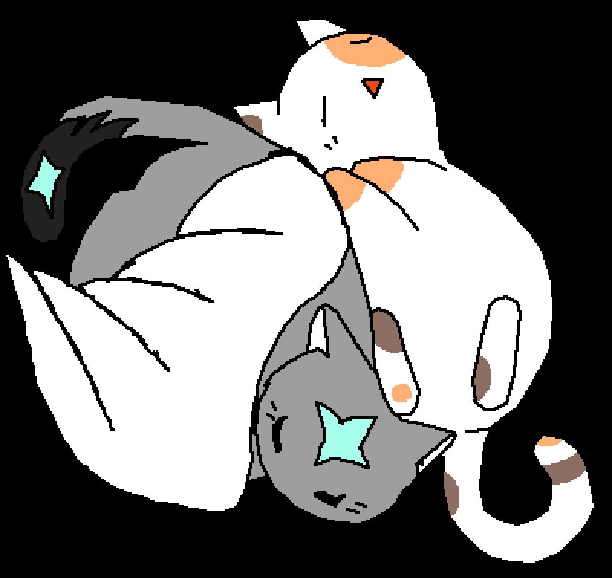 I like cali kitties lol by SomeWhatAngel