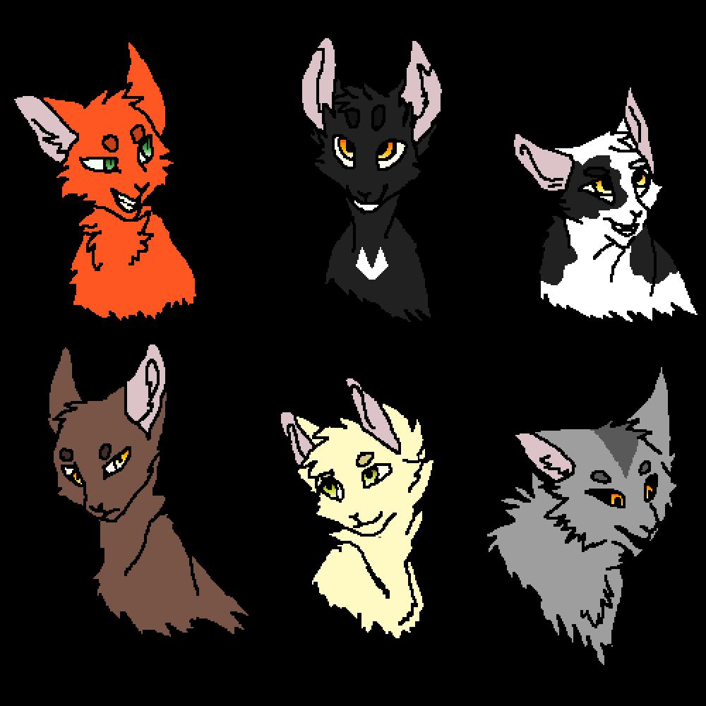 main-image-First Series Characters  by Kawaii-Heart