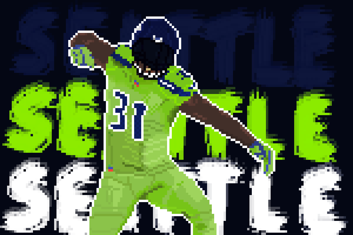 main-image-Kam Chancellor (NFL Character Portraits #1)  by Psychic9