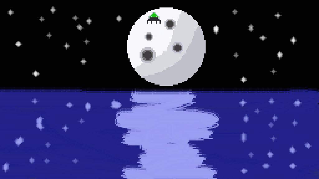 Full Moon by DragonShawdon