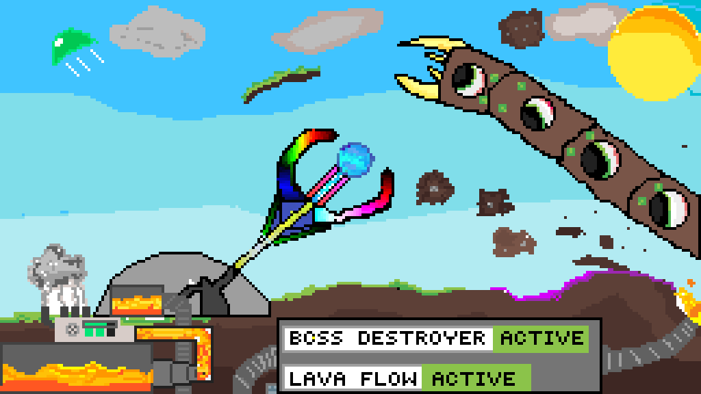 Pixilart - Terraria Rainbow Peircer / Boss Destroyer by terrria-drawer