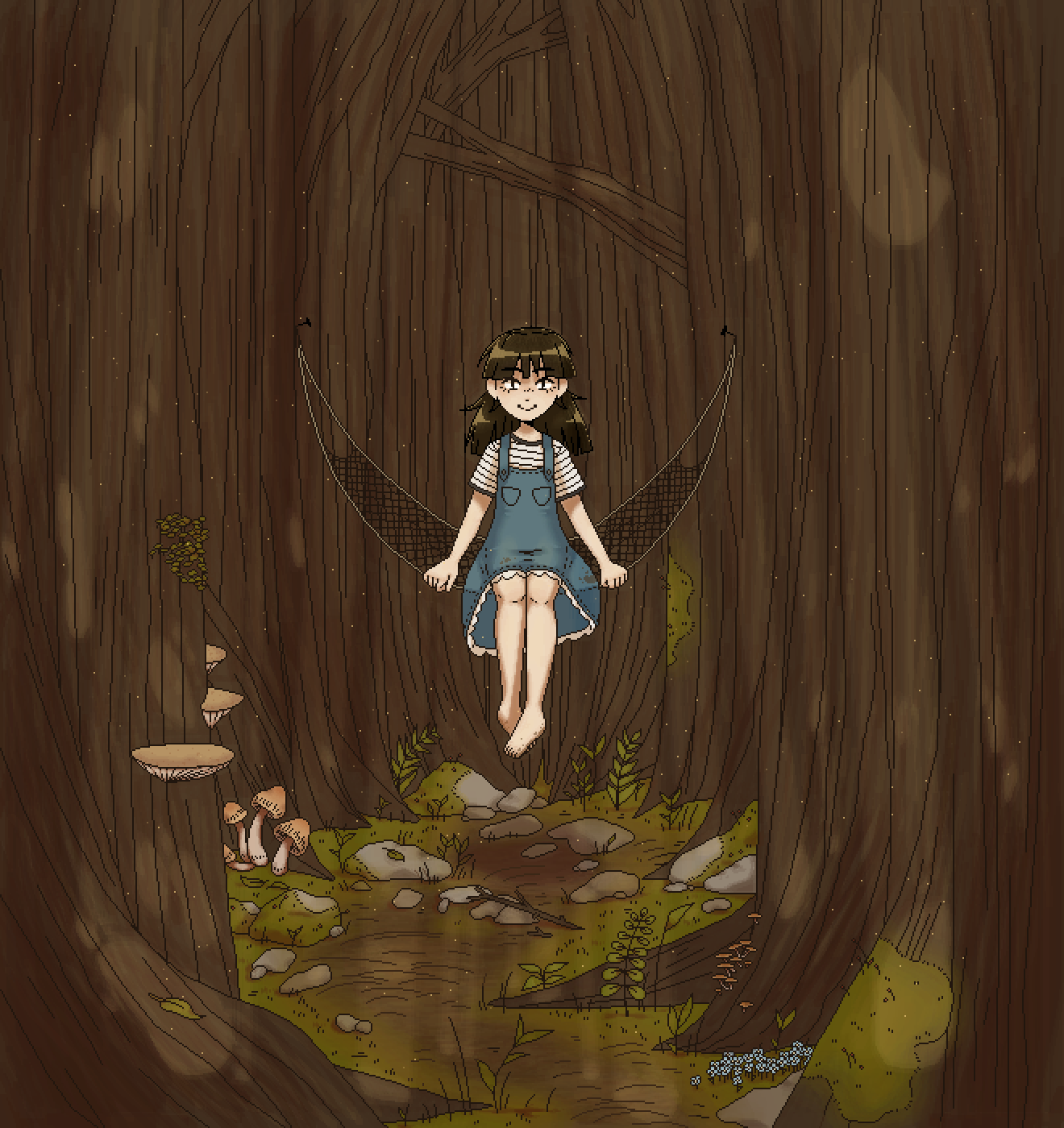 main-image-Forest Girl  by Kido