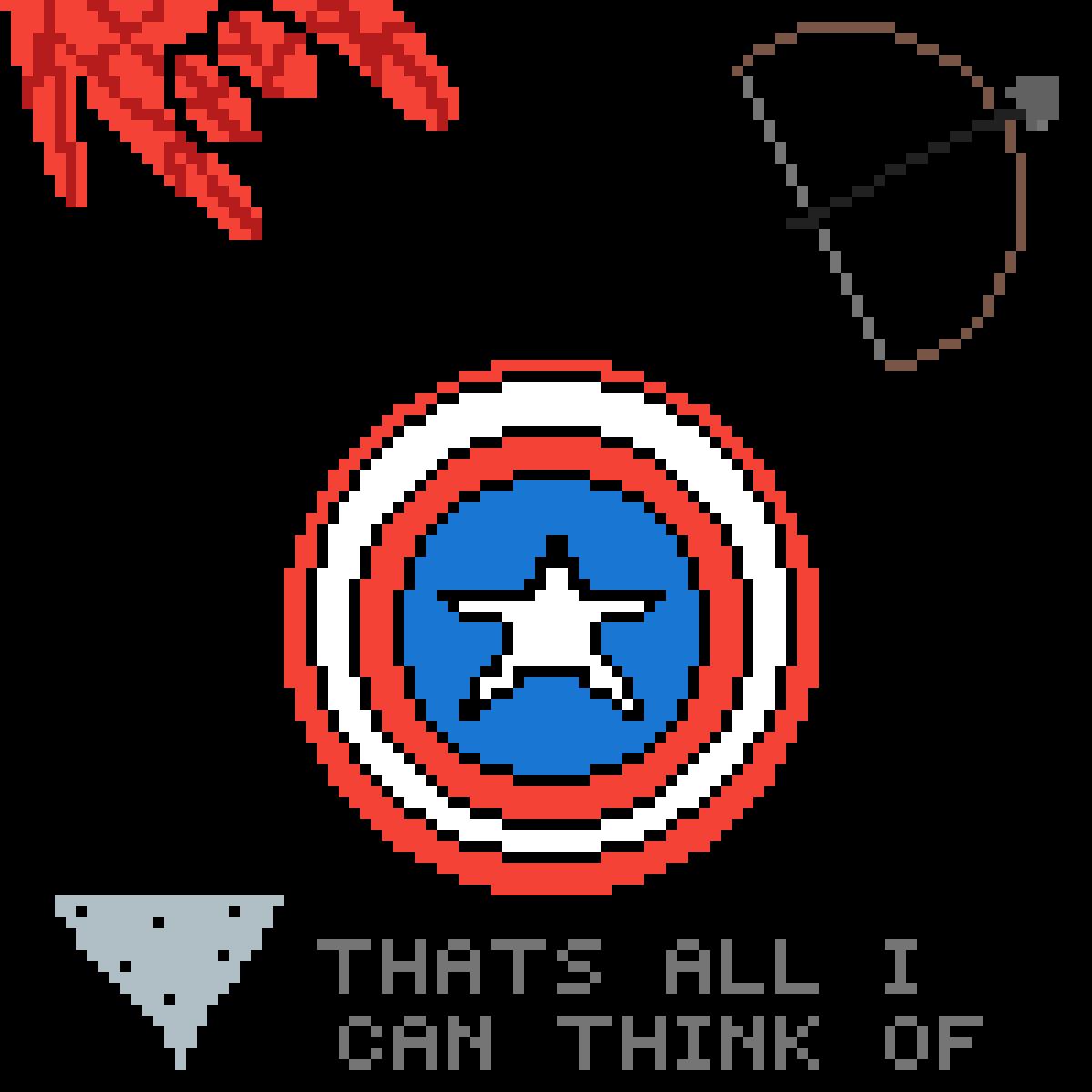 Avengers Stuff by jellyjello