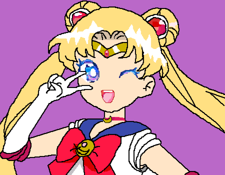 Sailor Moon by ilovezelda2much