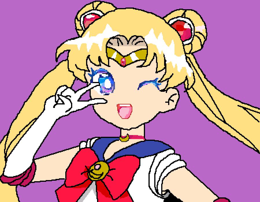 Sailor Moon by ilovezelda2much