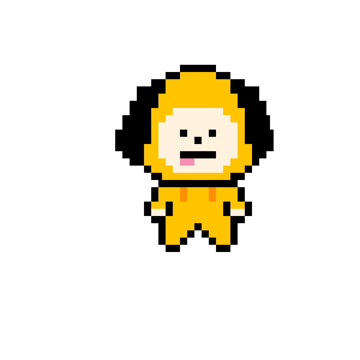 Pixilart - Chimmy from BT21 by Moony