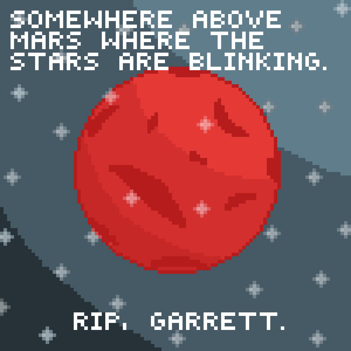 Rest in Peace, Garrett. by LittlestDudes