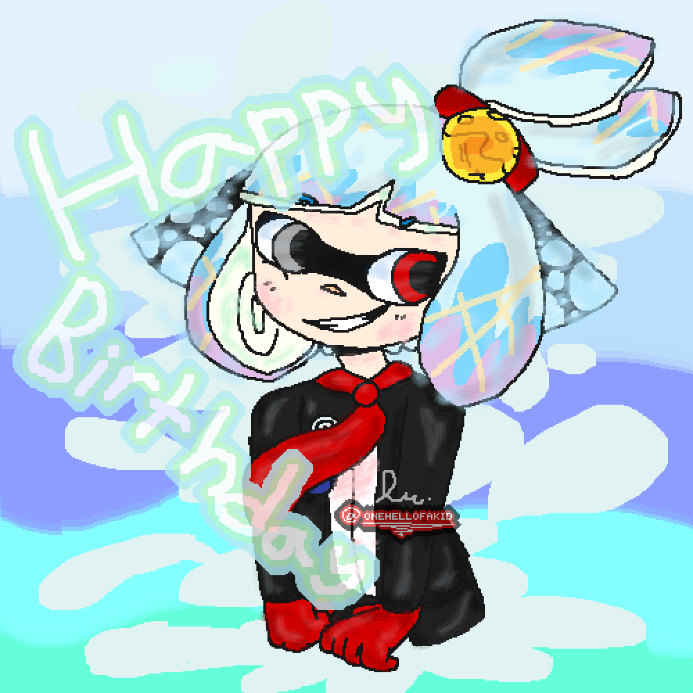 Its My Birthday Today! by onehellofakid