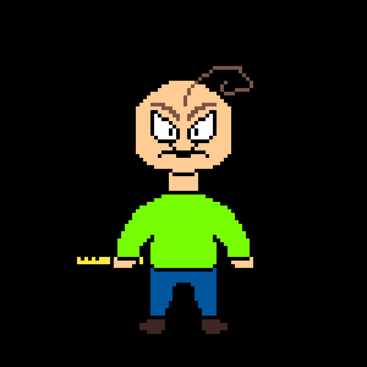 pixilart baldi angry baldi s basics by voidoomer