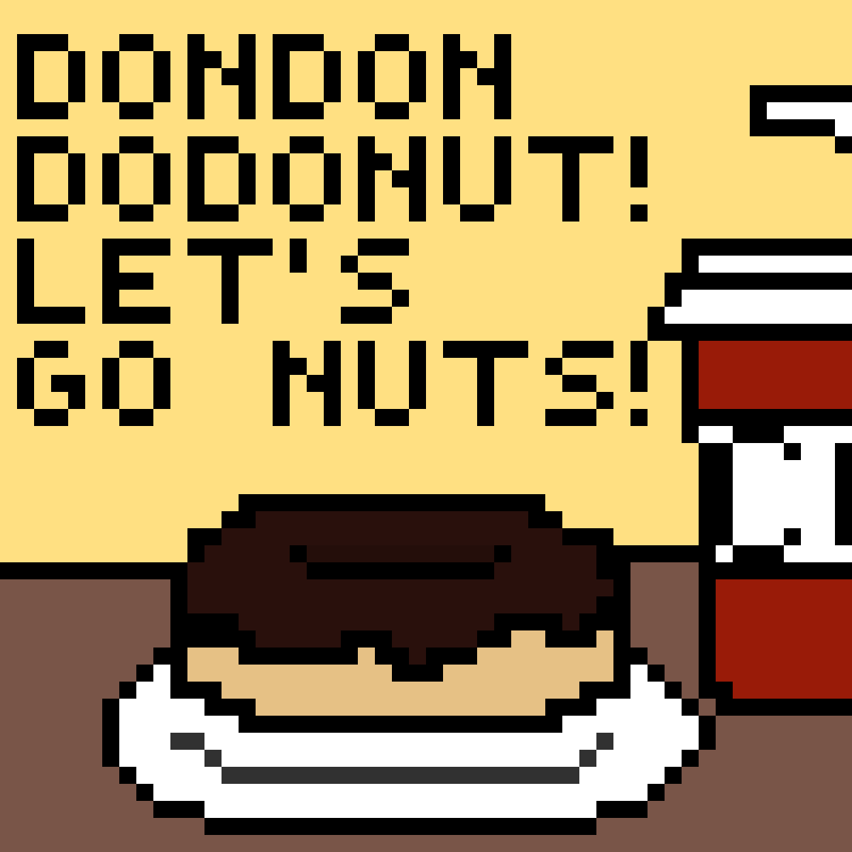 Dondondodonut! w/ coke by ZelfIsCeecy