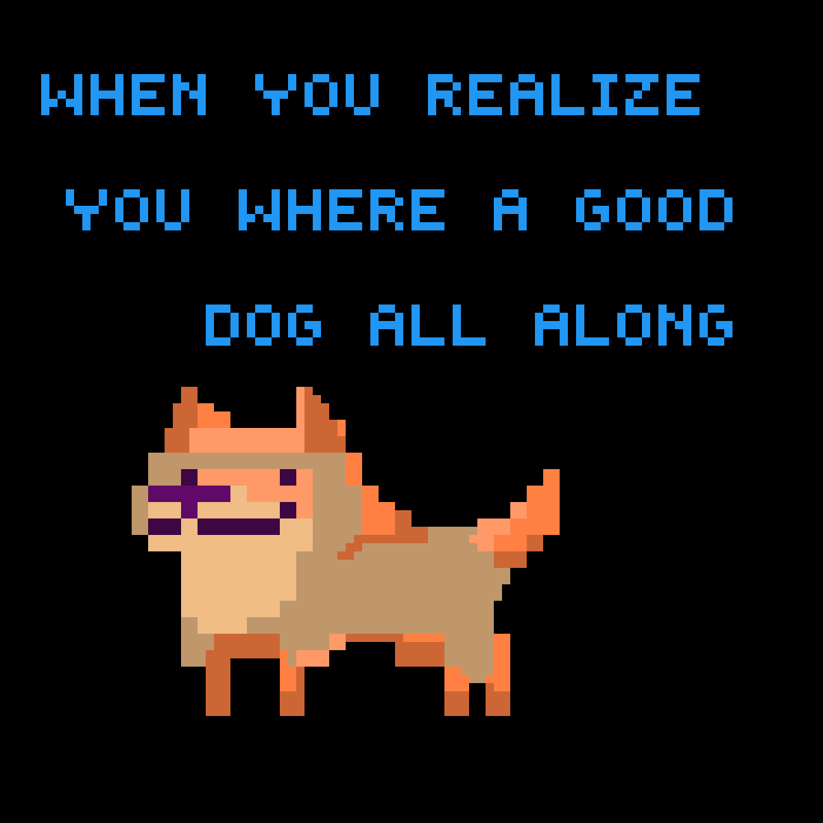 A good dog by uknowitzcasey