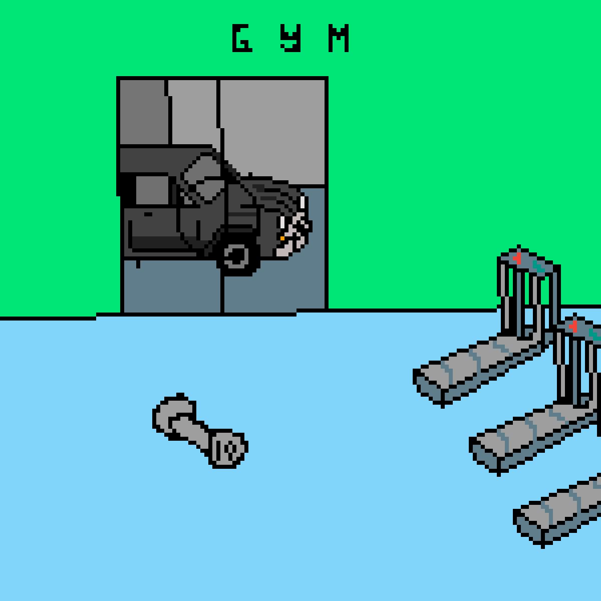 gym by oddskittle
