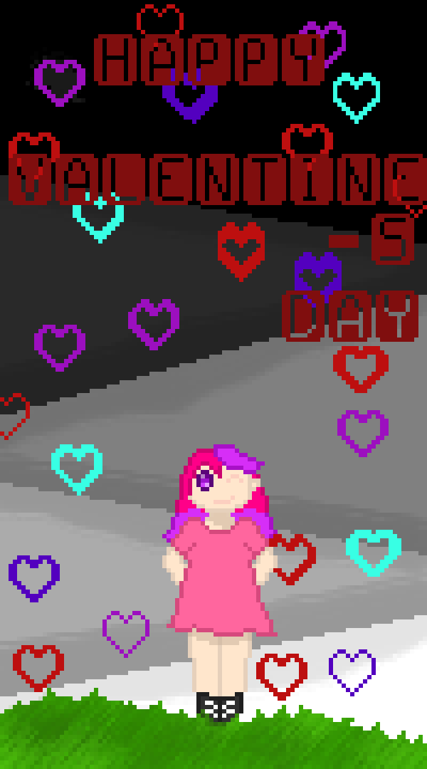 Happy early valentines day, finished it a day early :P by emojigamer370