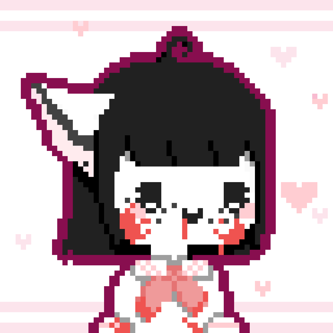 My cute yandere oc  by Ttalgi-Chan