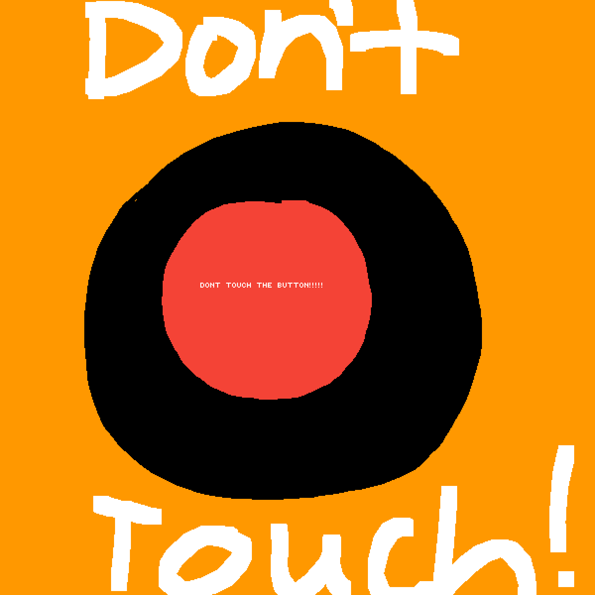 Dont touch the button  by XxCarolxX