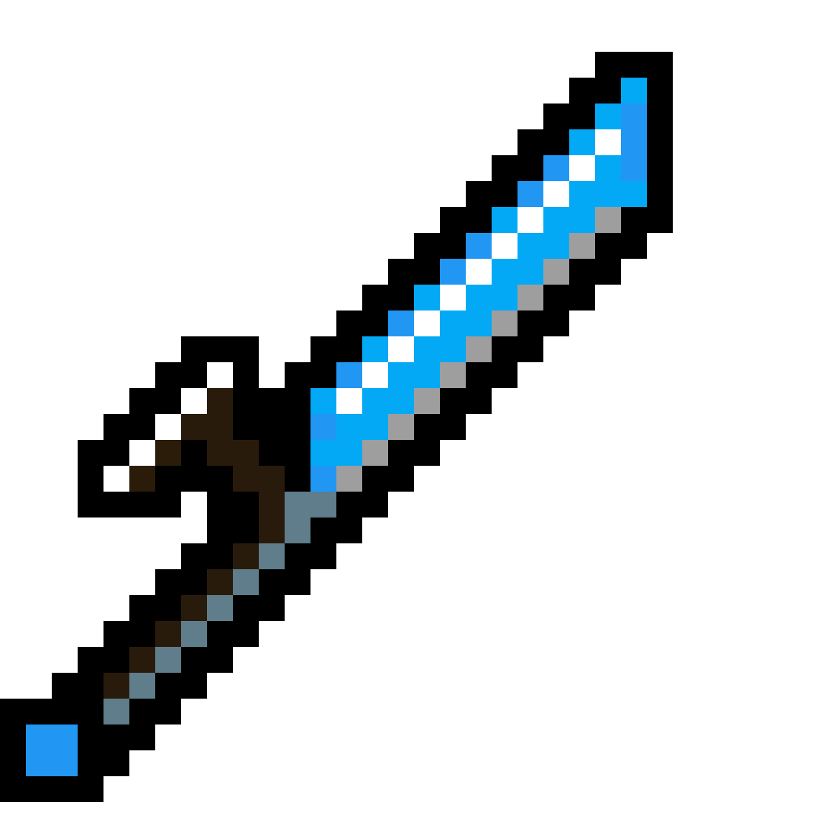 how to get a diamond sword in minecraft