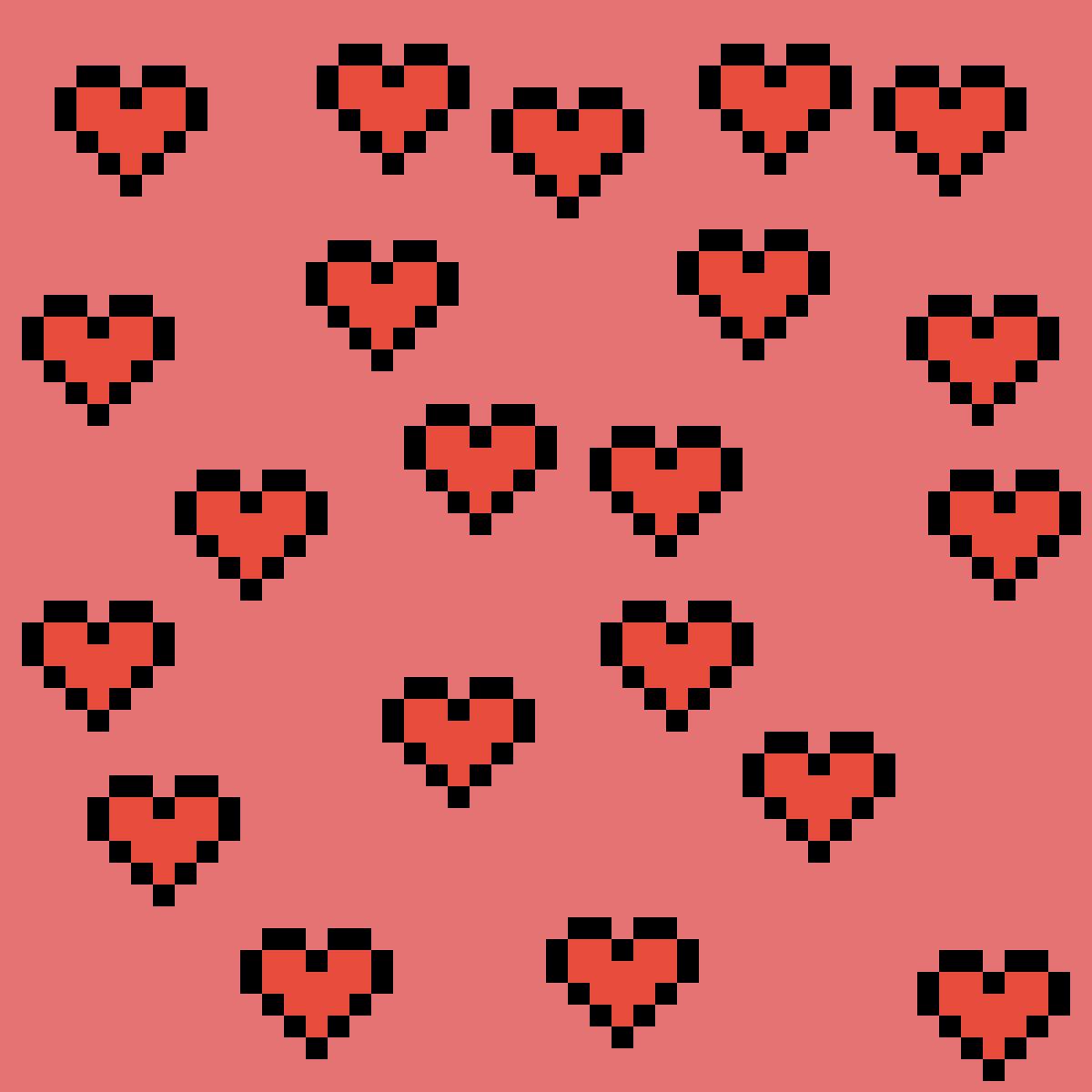 hearts by Pinkunicorn