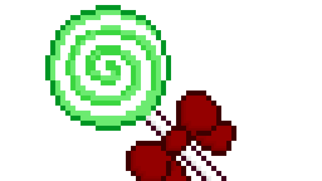 its a circle and now its an apple lollipop by JasmineFleur514