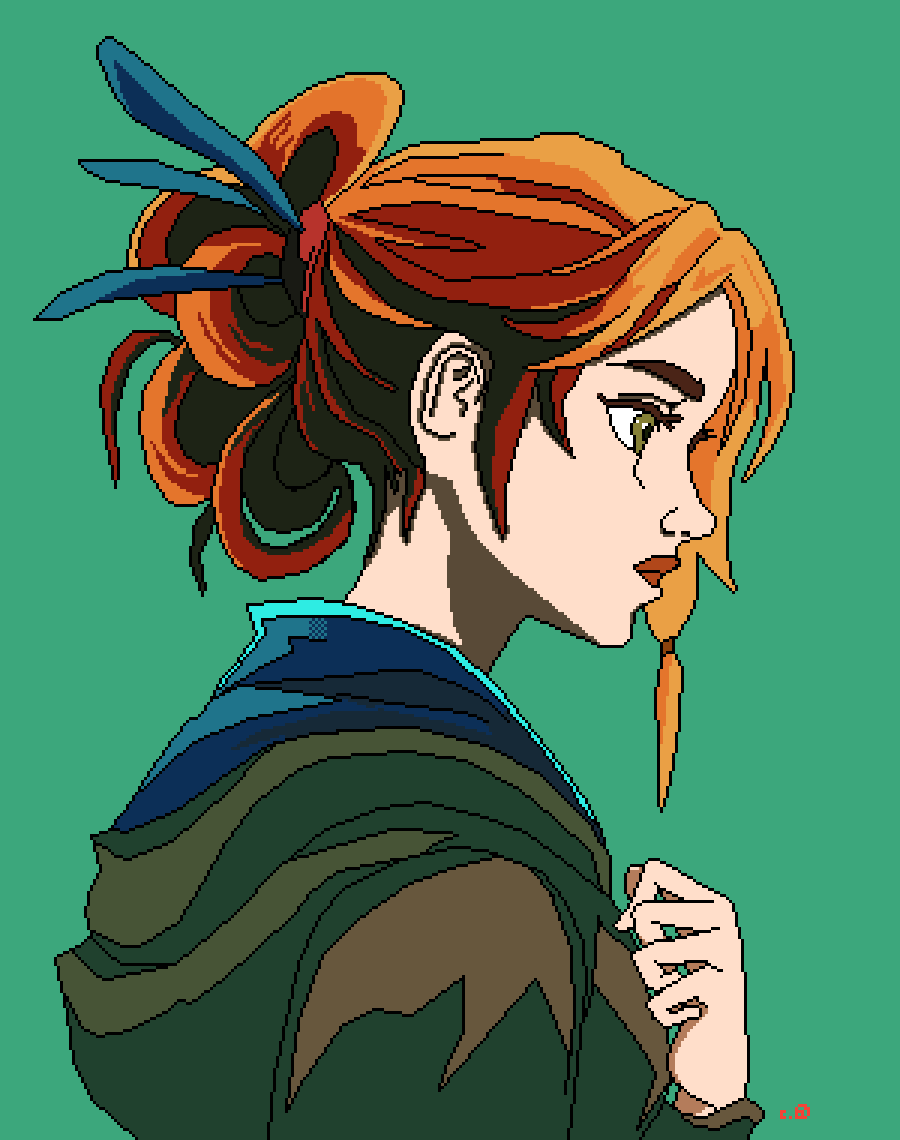 Ginger by shadanimo