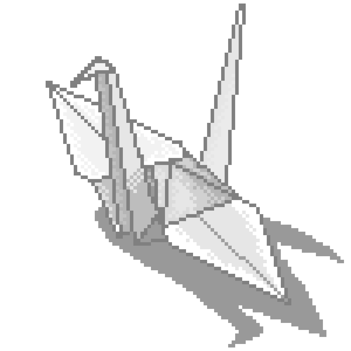 Paper Crane by KittenLasers