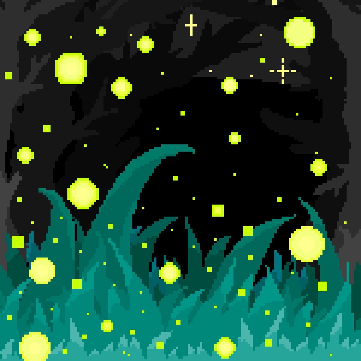 Fireflies by bluetigergirl