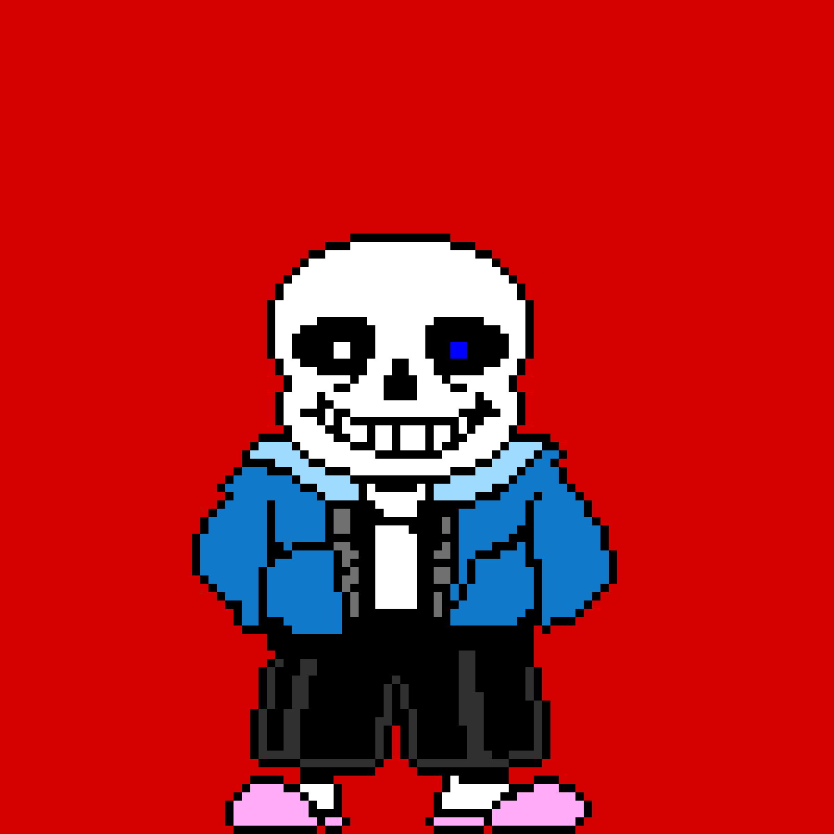 """Sans, """"You're gonna have a bad time"""" by GogetaMUI"""