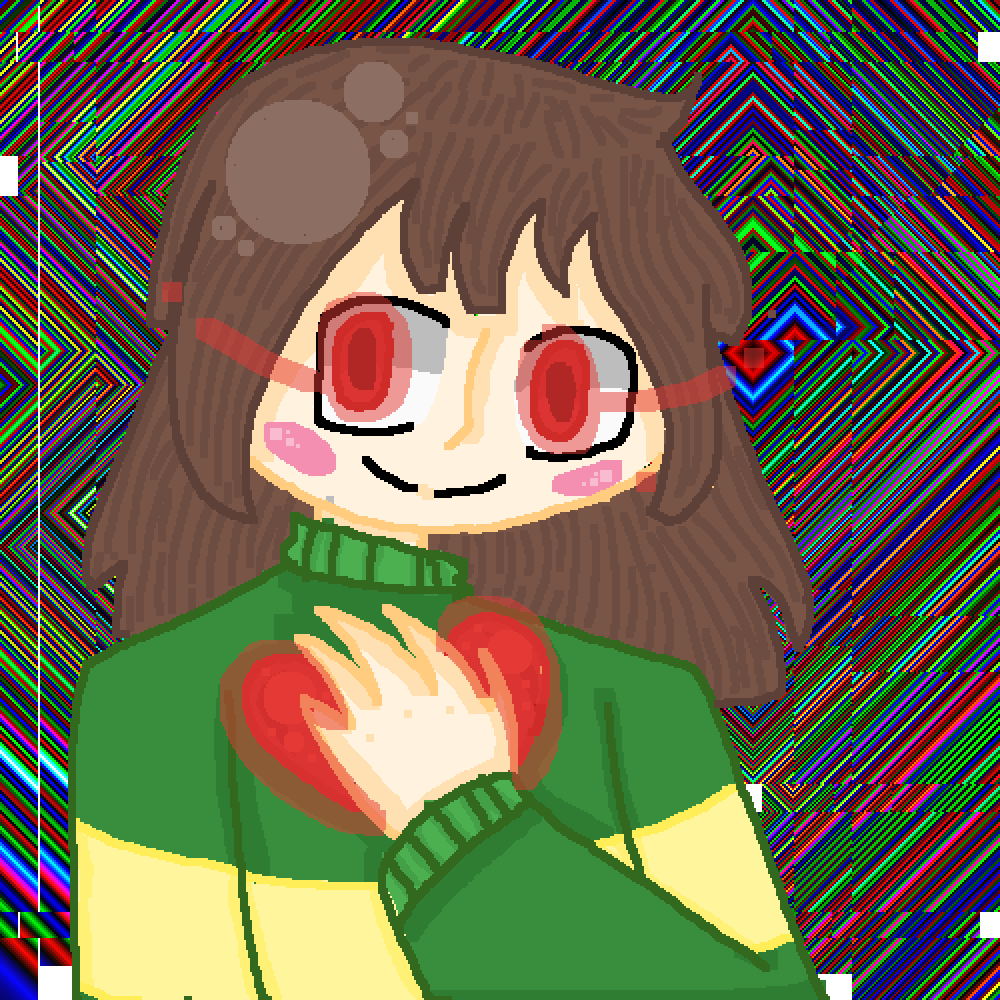 Chara: Glitched by Cakesrule