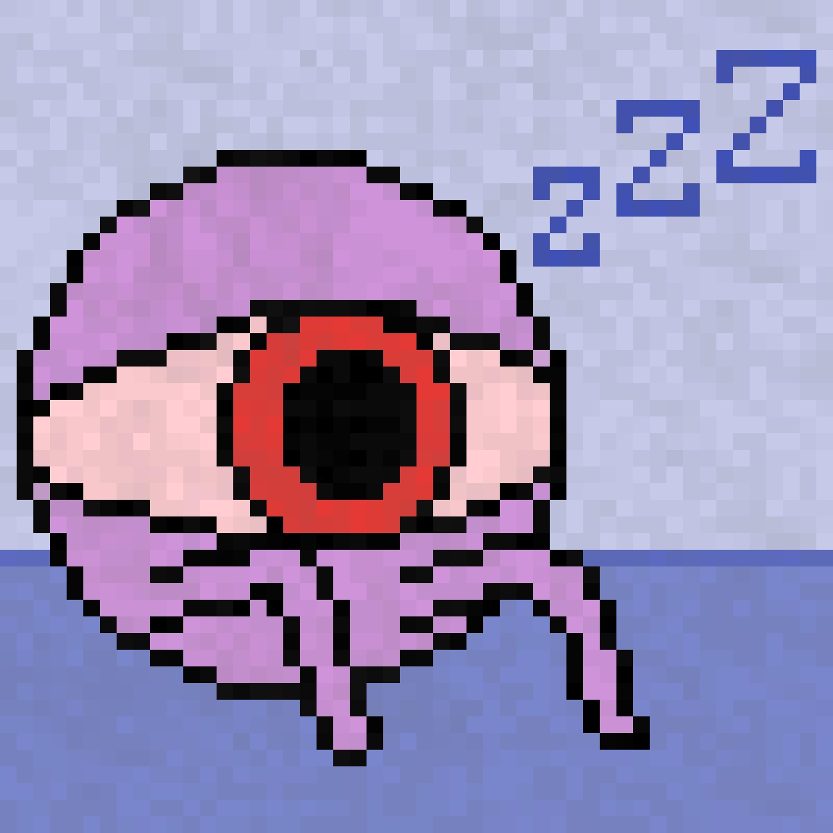 Sleepy eye by Hmusqe