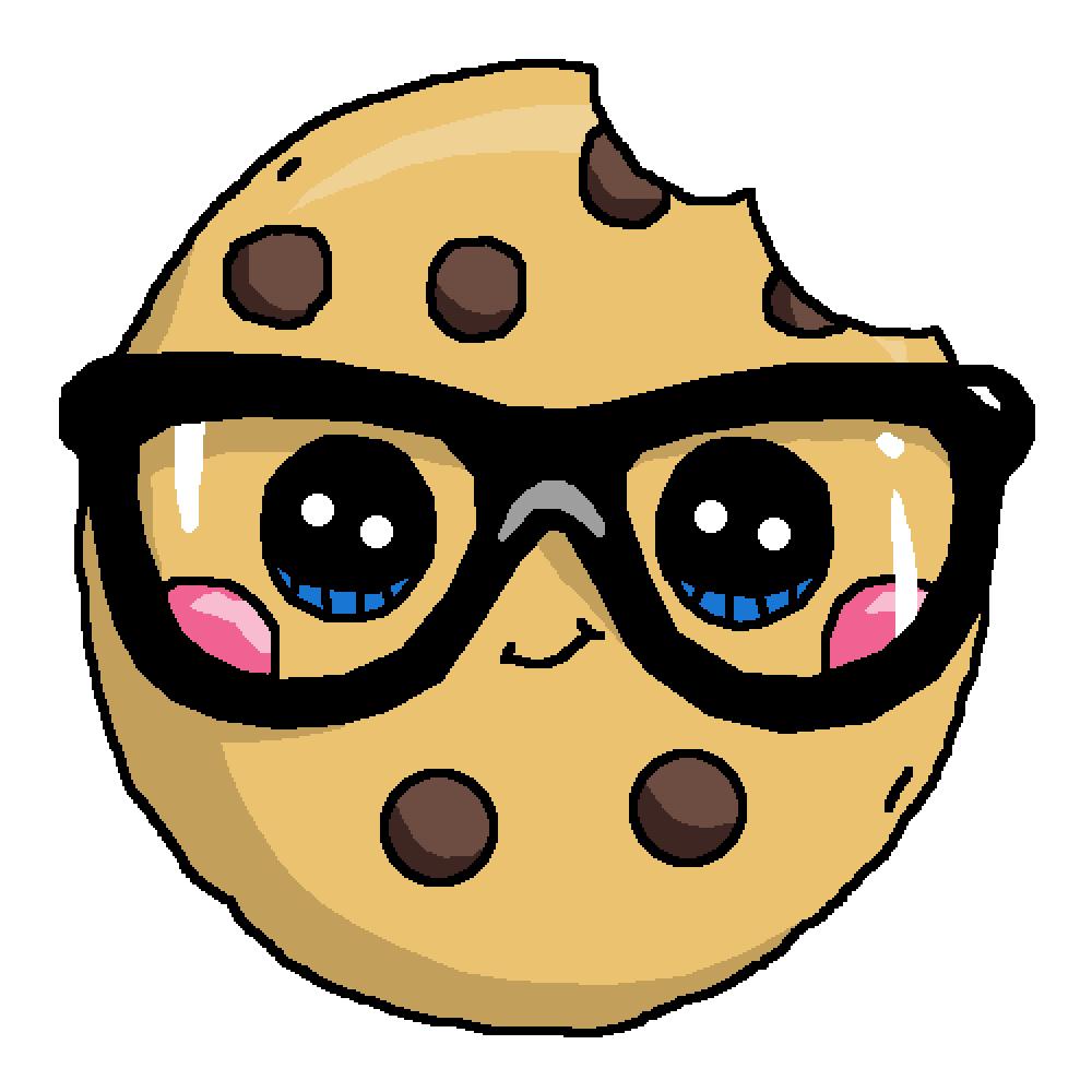 Pixilart kawaii cookie by ByeBlueBerry