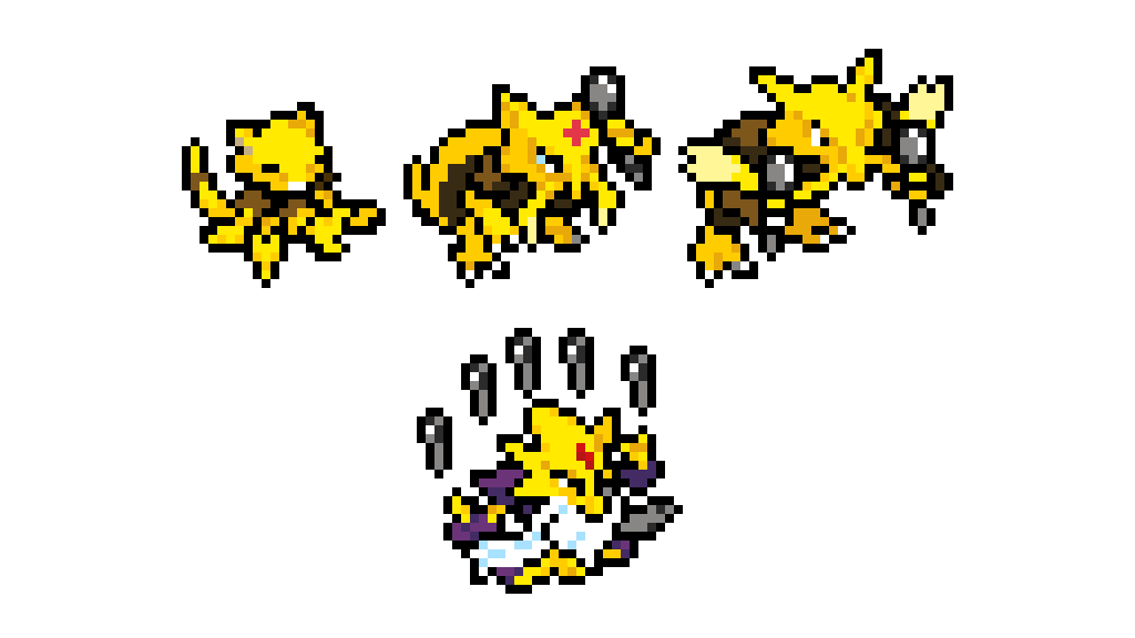 Abra Kadabra Alakazam And Mega Pokemon 914441562879f99