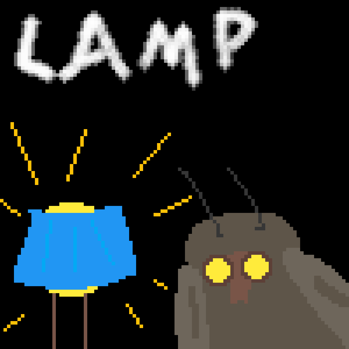 Lamp by APPLEcreamm