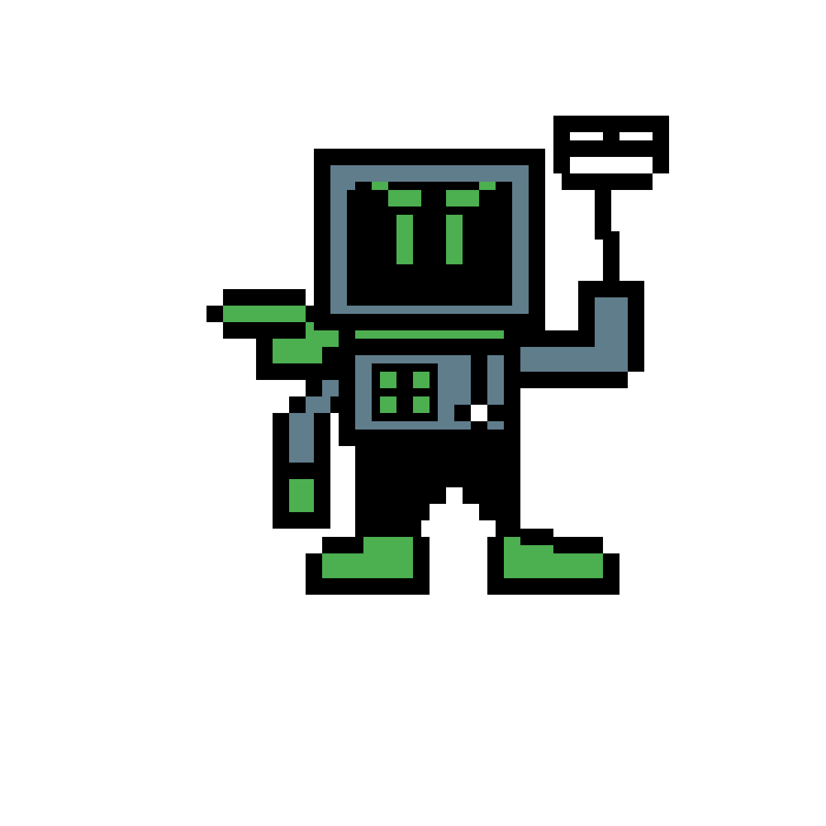 Techno Man by Weegee123