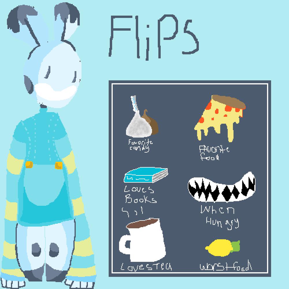 Flips Info Board by FatherDitto