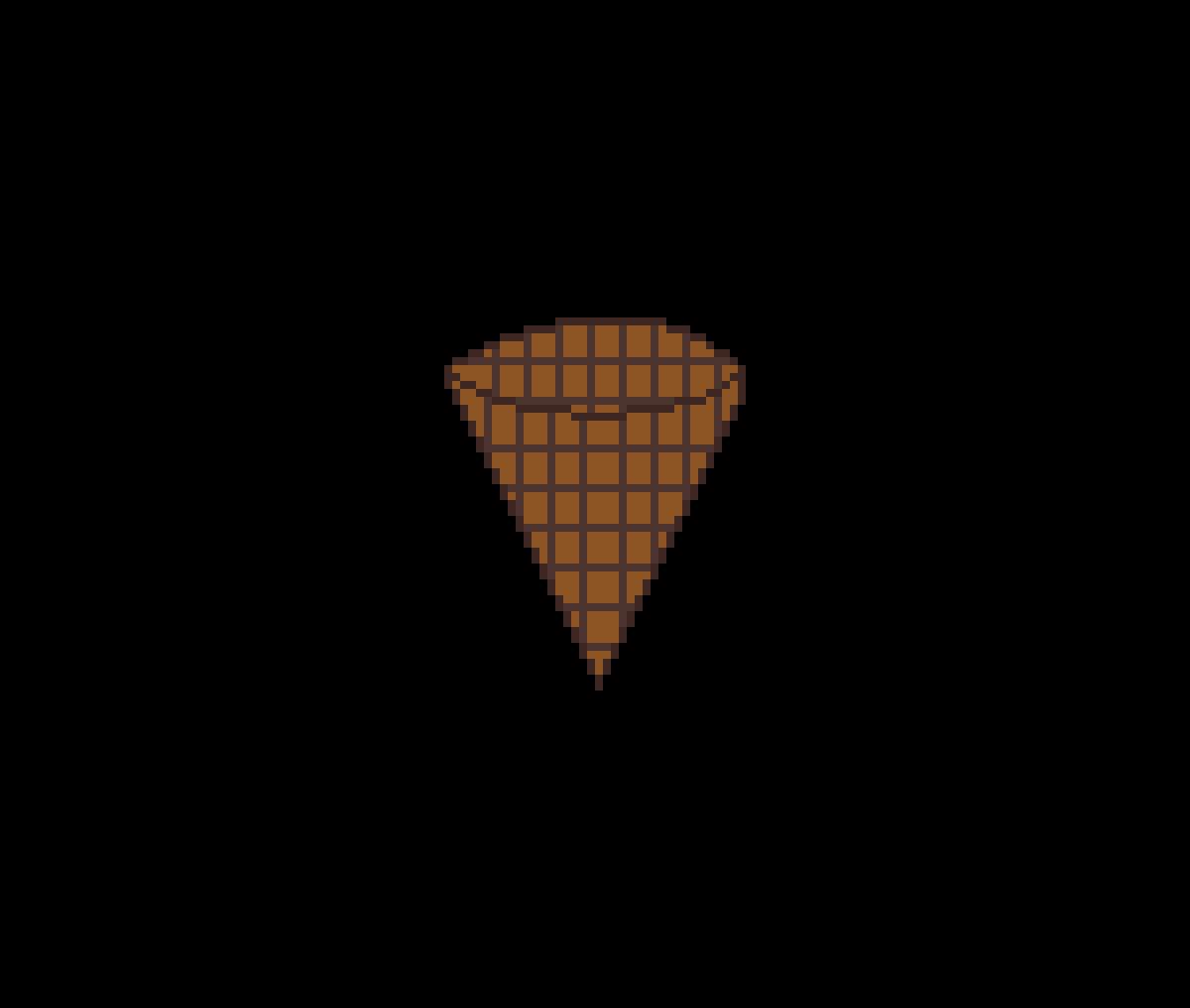 Ice cream cone by Jrwolfen