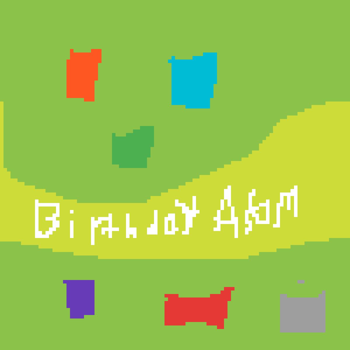 Birthday Banner by AsamTheCat