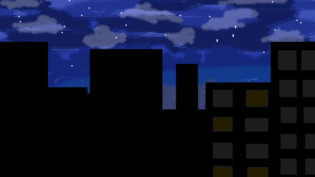 Night sky  by DoodlerLoser