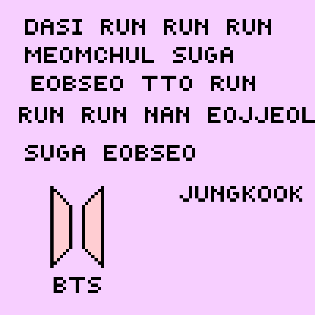 main-image-BTS Jungkook Run Lyrics (not all lyrics)  by TacoCat06